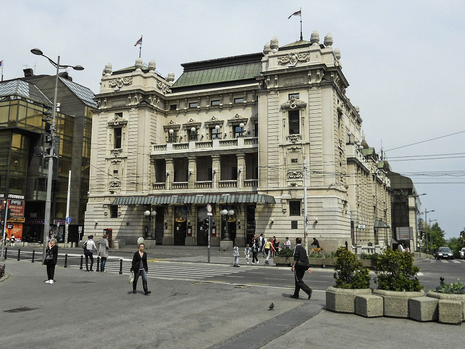 Nationaltheater in Belgrad