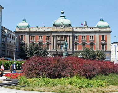 Nationalmuseum in Belgrad